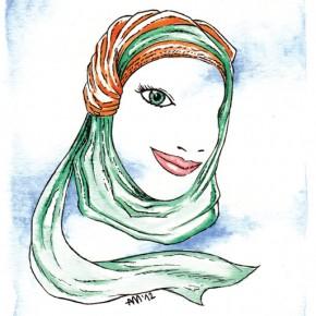 Per què la veïna porta hijab?