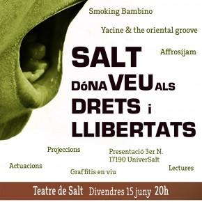 Salt dóna veu als drets i llibertats
