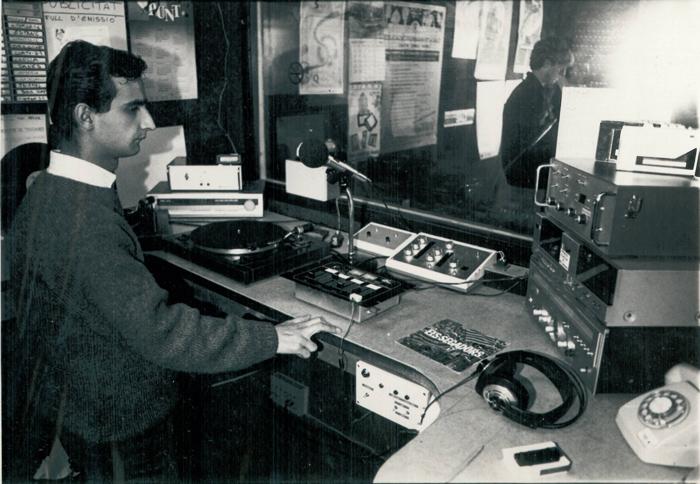 Als estudis del carrer Dr. Ferran, anys 1989/1990: Joan Girona (tècnic)