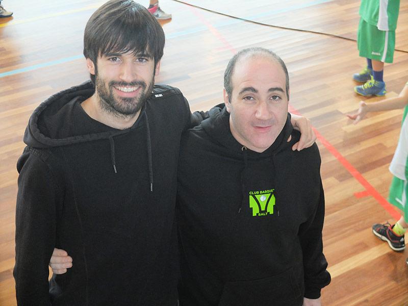 """Francesc Reixach """"Frosti"""",  i Marc Bartrolí"""