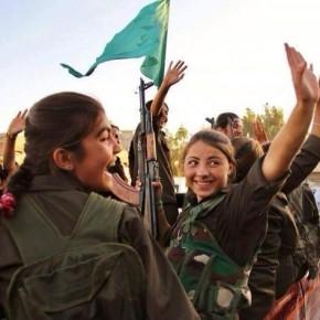 La flor kurda al vesper sirià